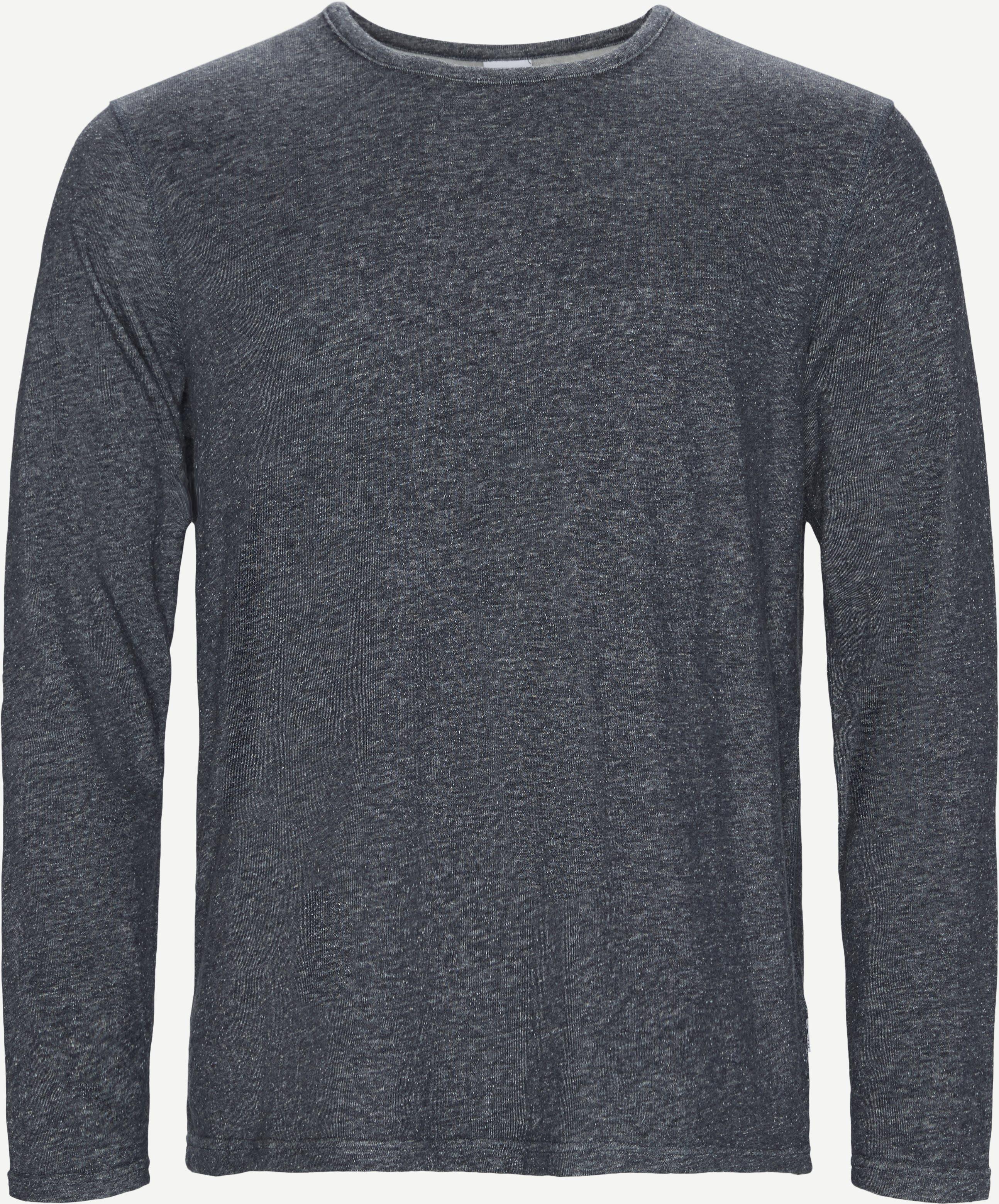 Georg Crewneck Sweatshirt - Sweatshirts - Regular fit - Blå